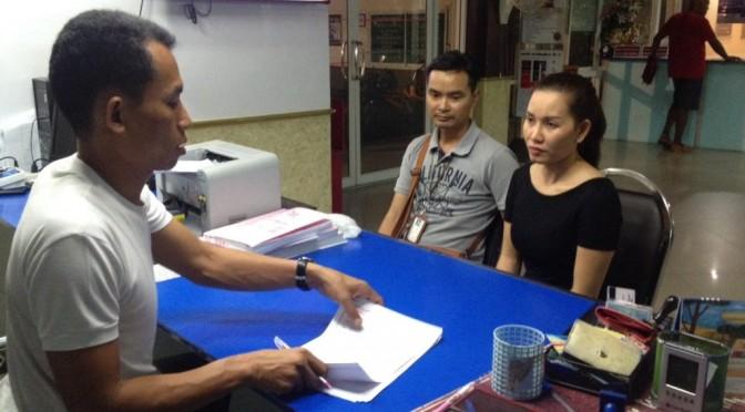 สาวเวียดนามเดินเล่นถูกโจรกระชากกระเป๋า สูญเงินกว่า 70,000 บาท