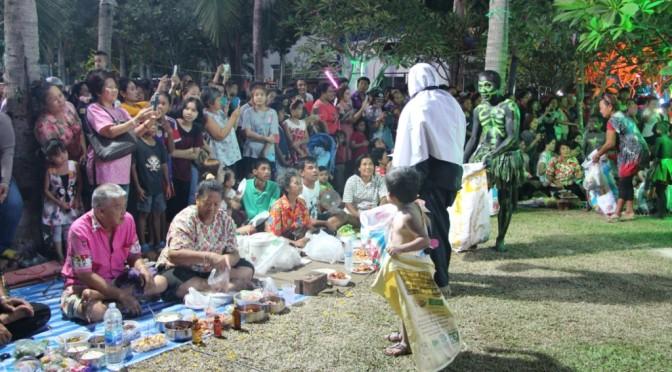 เมืองพัทยาร่วมสืบสานประเพณีไทย จัดงานประเพณีกองข้าวเมืองพัทยา ประจำปี 2559