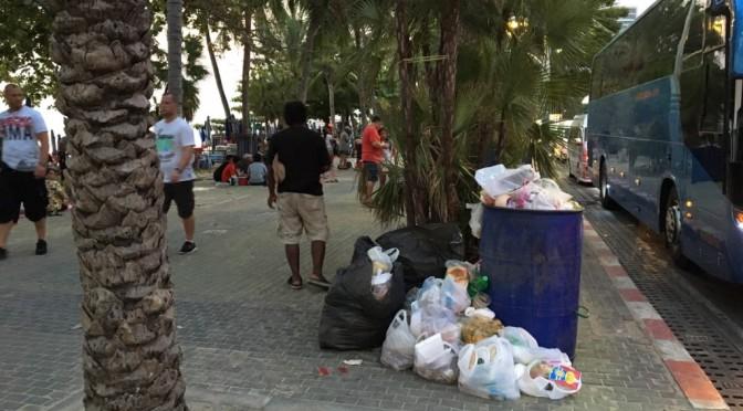 วอนเจ้าหน้าที่ที่เกี่ยวข้องลงพื้นที่ชายหาดเมืองพัทยา ตรวจดูแลความสะอาดช่วงเทศกาลสงกรานต์