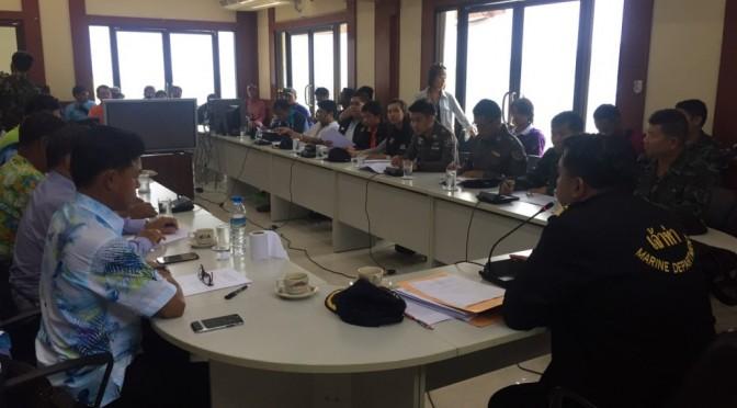 กรมเจ้าท่าพัทยา ร่วมเมืองพัทยา จัดประชุมผู้ประกอบการเรือเร็ว หลังเกิดอุบัติเรือชนกัน 2 วันซ้อน