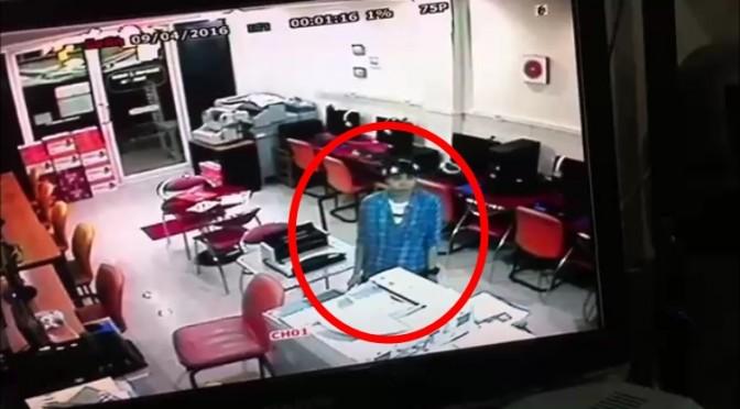 หนุ่มเจ้าของร้านอินเทอร์เน็ต โพสต์วงจรปิดแฉพฤติกรรมสาวทอมลักขโมยโน้ตบุ๊ค