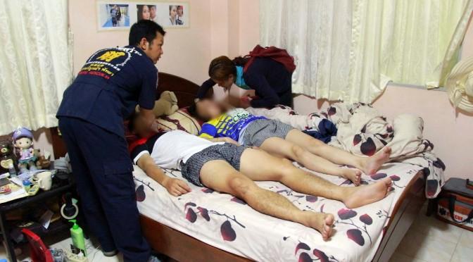 คลั่งในรัก! นักบอลสโมสรดังพัทยา มัดมือติดกับแฟนสาว กินยานอนหลับหวังปลิดชีวิตทั้งคู่