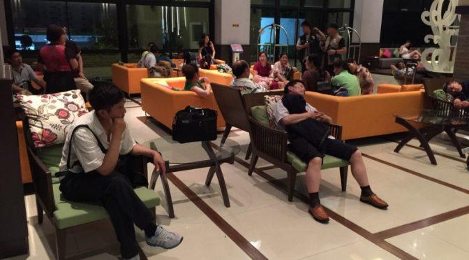 ไกด์นำเที่ยวปล่อยนักท่องเที่ยวชาวจีนลอยแพ 38 ชีวิต